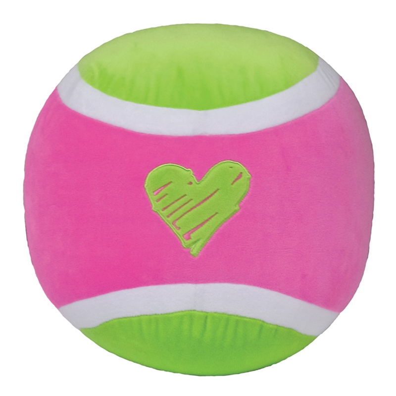 iscream Fleece Embroidered Pillow