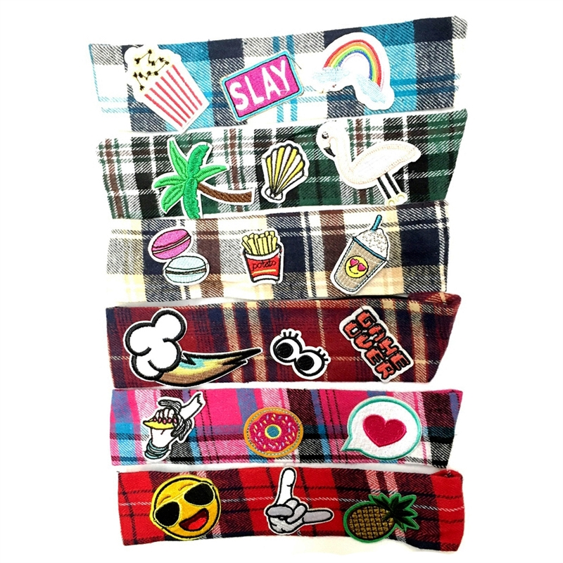 Flannel Patch Headwraps