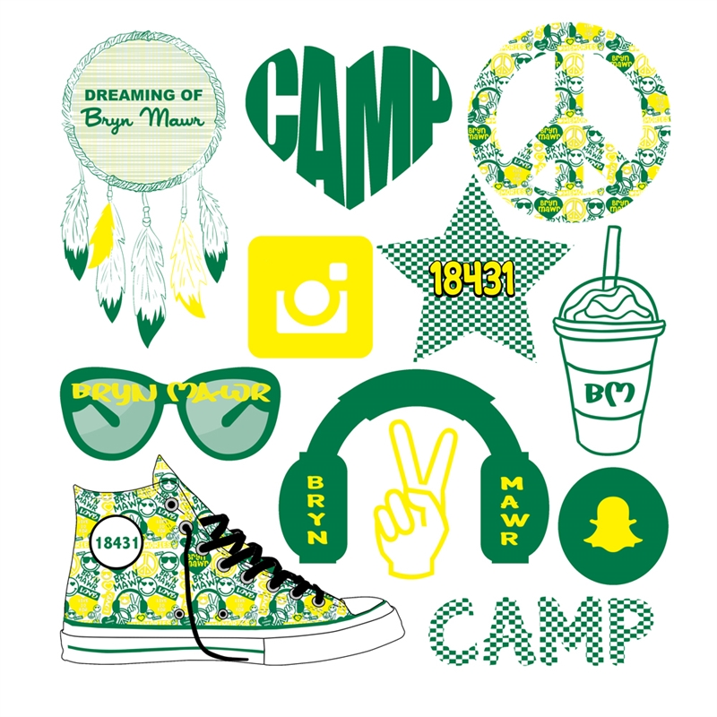 Sweet Grace Camp Decals