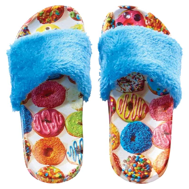 Iscream Assorted Donuts Furry Slides