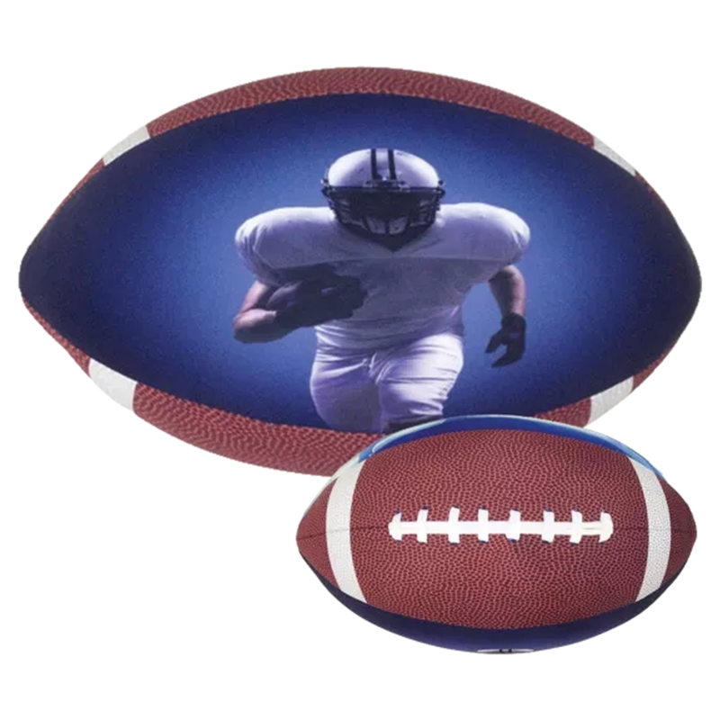 Iscream Football Microbead Pillow - One Size