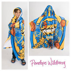 Penelope Wildberry Fuzzy Hooded Blanket