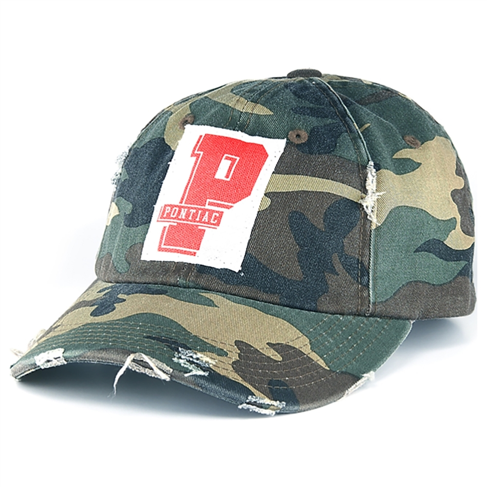 Tee2You Camp Patch Camo Trucker Hat