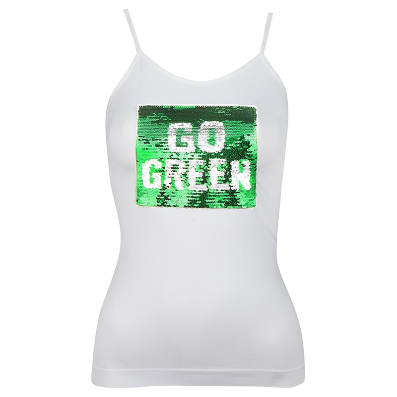 H_Trailz Go Team Sequin Tank