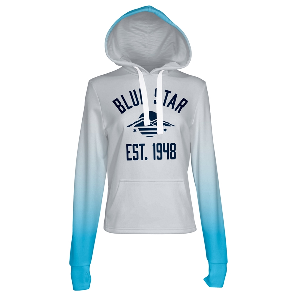 Athletic Camper Girls Performance Hoodie