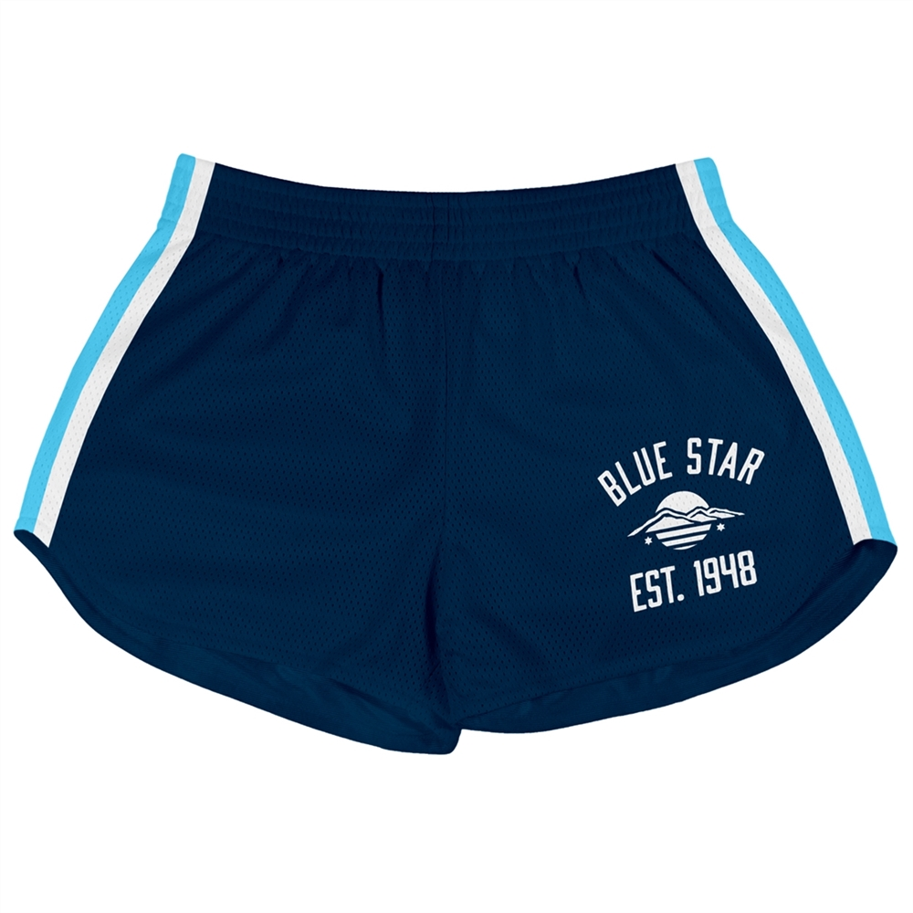 Athletic Camper Girls Mesh Shorts