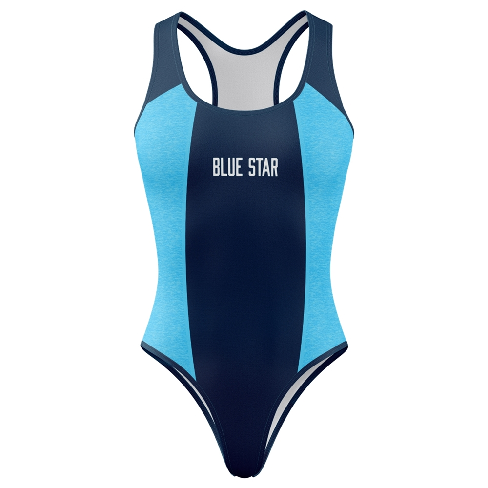 Athletic Camper Girls Swimsuit