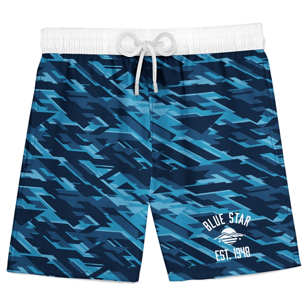 Athletic Camper Boys Swim Trunks