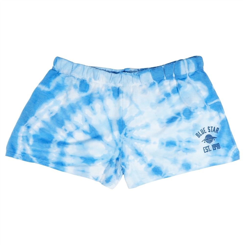 Firehouse Tie-Dye French Terry Shorts