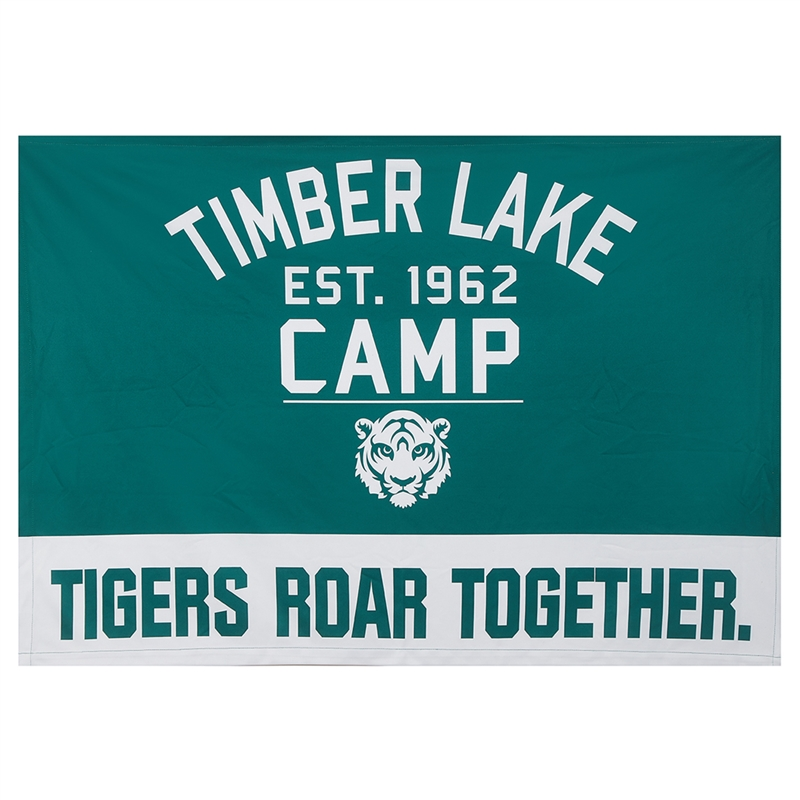 Athletic Camper Camp Banner